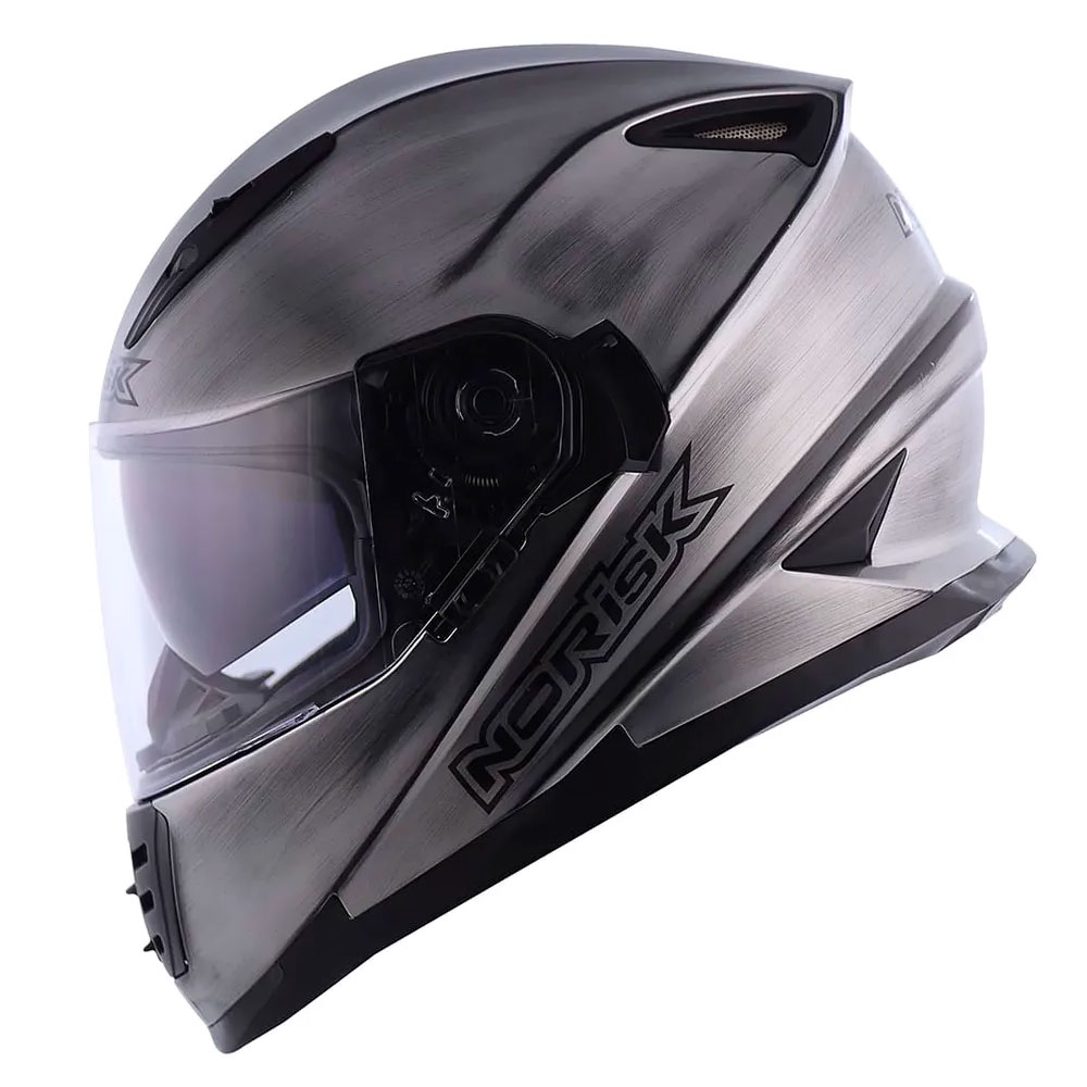 CAPACETE FF302 IRON CHROME NORISK
