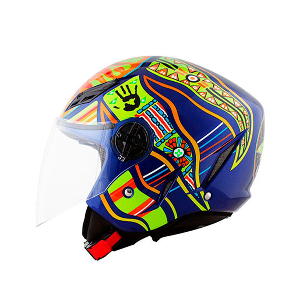 CAPACETE BLADE FIVE CONTINENTS AGV